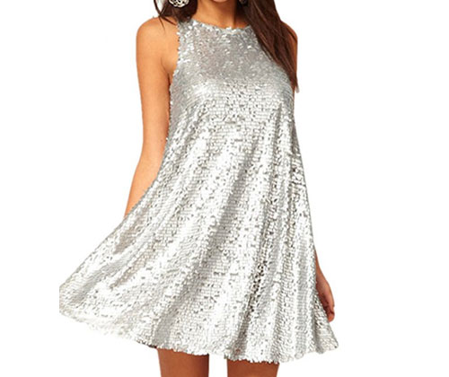 silver-dress-sleeveless-sequined-mini-babydoll