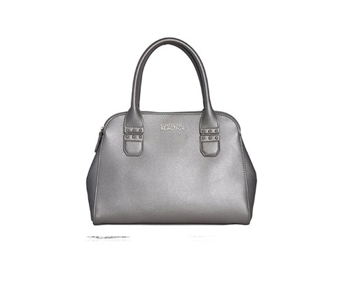 Silver Handbag Kenneth Cole Reaction KN1800 Journey Satchel